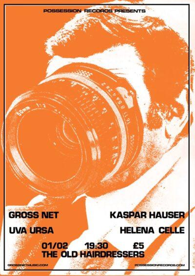 Gross Net, Kaspar Hauser, Uva Ursa, Helena Celle / 2nd Feb 2017